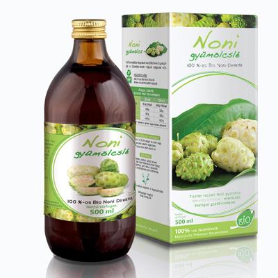 Noni gyümölcslé 100%-os Bio, 500 ml