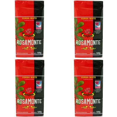 Mate Tea Rosamonte, 2 kg (4 x 500 g)