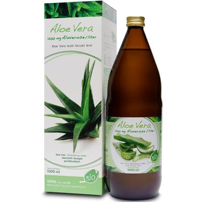Mannavita ALOE VERA gyümölcslé 100%-os, 6 x 1000ml (5+1 ajándék)