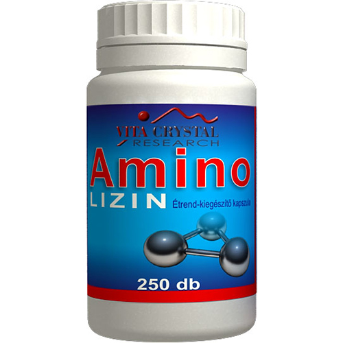 Crystal Amino Lizin kapszula, 250db
