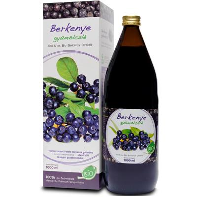 Fekete Berkenye gyümölcslé 100%-os Bio, 1000ml