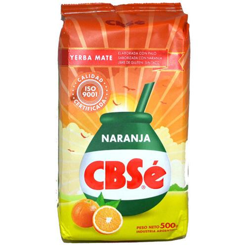 Mate tea CBSé Narancs, 500g