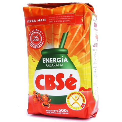Mate tea CBSé Guarana, 500g