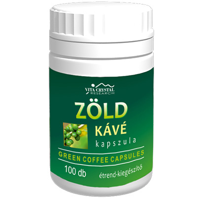Crystal Zöld kávé kapszula, 100db