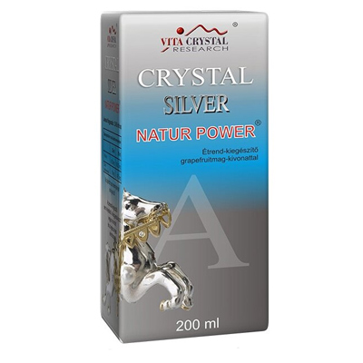 Crystal Silver Natur Power 200ml