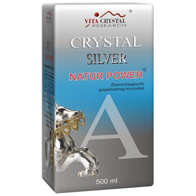 Crystal Silver Natur Power, 4500ml (9 x 500ml)