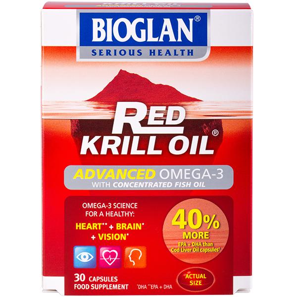 Bioglan Hagyományos Krill olaj, 30db