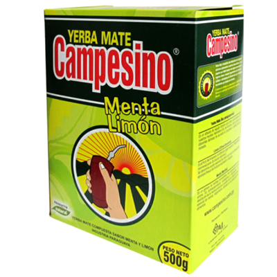 Yerba mate Campesino menta-citrom 500g