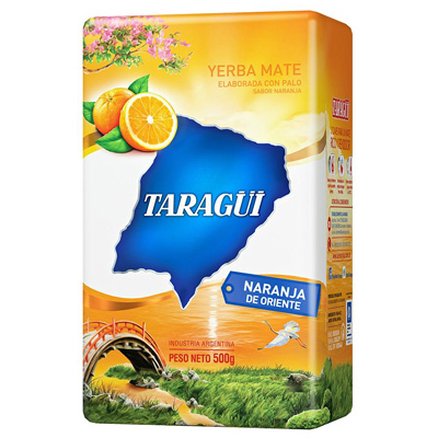 Mate Tea Taragüi Keleti narancs, 500g